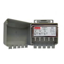AMPLIFICATORE 1VHF16DB+2UHF 25DB 100MA