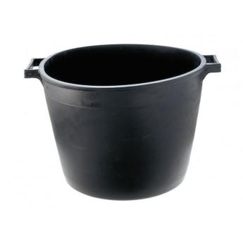 CASSA MACERIE PVC NERO TONDA
