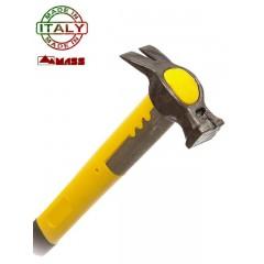 Martello Mass Ingegnere Fioretto 190FC: 200 grammi, manico fibra 50 cm