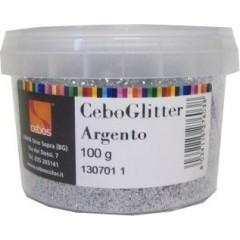 CEBOGLITTER ARGENTO gr.40