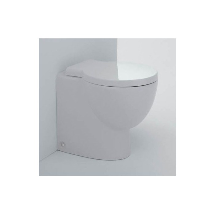 Ceramica Dolomite Serie Zelig.Vaso Zelig A Pavimento A Filo Parete Ceramica Dolomite