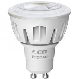 ECM LED DICROICA 6W 3000K GU10 CRT