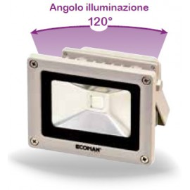 PROIETTORE LED ALL. ALTA LUMIN. 10W 4000K IP65