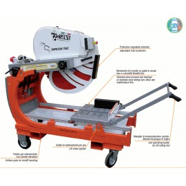 Tagliapiastrelle ad acqua elettrica ghelfi Ghefi Dragon 750