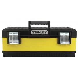 """Stanley 1-95-612 Cassetta Porta Utensili con Corpo da Metal e Plastic, 20"""", Giallo"""