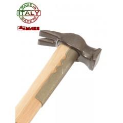 Martello Mass Ingegnere Fioretto 191: 200 grammi, manico legno 60 cm