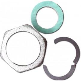 Dado in ottone per tubi flessibili acqua da 3/4 pollice