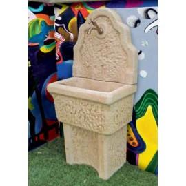 Lavelli a muro in pietra ricostruita Vistola