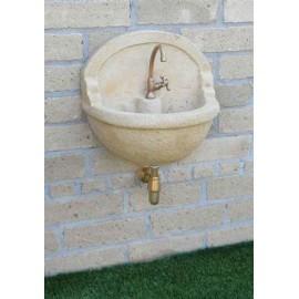 Lavello a muro in pietra ricostruita nonno aurelio