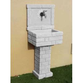 Acquaio in pietra ricostruita nonno giuseppe