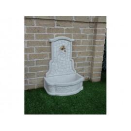 Fontanella da muro in pietra ricostruita noli