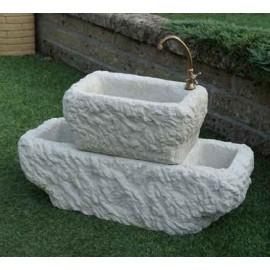 Fontanella in pietra ricostruita dallas