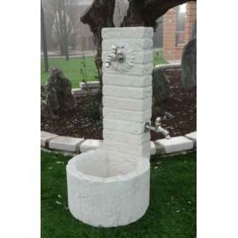 Fontanella in pietra ricostruita austin