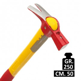Martello ingegnere Mass: 124FC 250 gr manico in fibra 50 cm