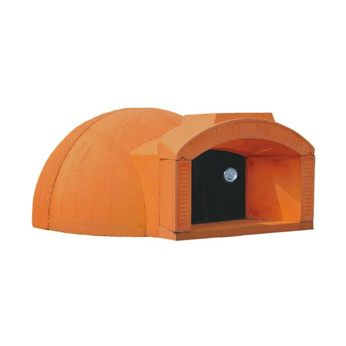 Forno a legna per pizza e pane 100x100 cm vibrok - Forno a legna per pizza casalingo ...