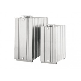 Serbatoio in acciaio inox 316L 2000 litri parallelepipedo Cordivari