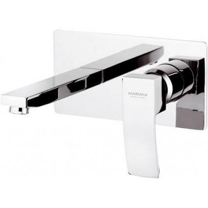 Miscelatore monocomando lavabo ad incasso.