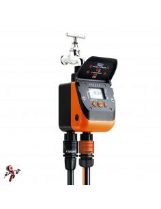 Claber AQUADUE Duplo Evolution 8410 Nero/Arancione/Grigio 130x190x115 cm