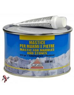 Mastice per marmo tixo paglierino 500 ml bicomponente incolla e sigilla il marmo