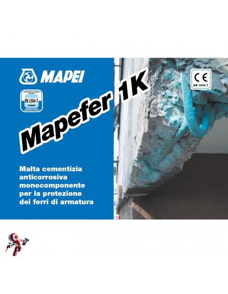Mapei MAPEFER 1K Malta cementizia anticorrosiva 5 kg