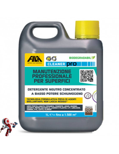Fila Cleaner Pro detergente universale per pavimenti da 1 litro