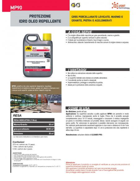 Fila mp90 protettivo antimacchia per superfici lucide base solvente