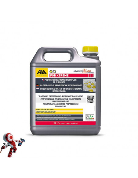 Fila Fob Xtreme protettivo antimacchia per superfici non lucide base solvente 5lt