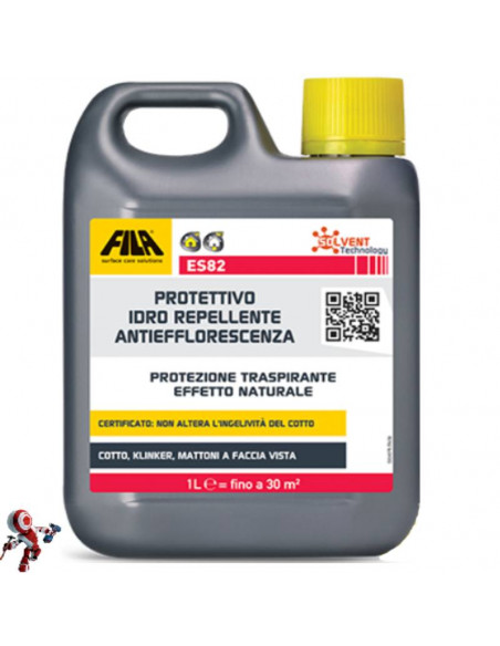Fila ES82 protettivo idrorepellente antiefflorescenza base solvente 1 lt