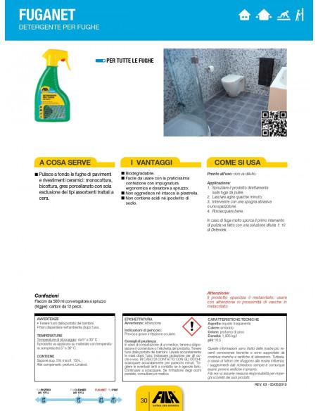 FILA Fuganet detergente