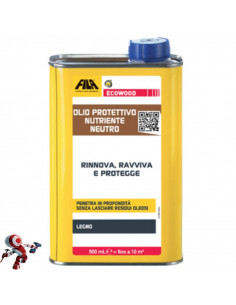 FILA ECOWOOD olio protettivo nutriente neutro 500 ml
