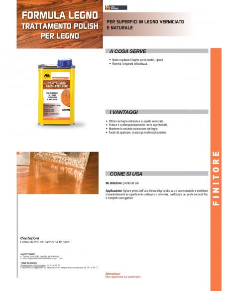 Fila formula legno polish per superfici in legno