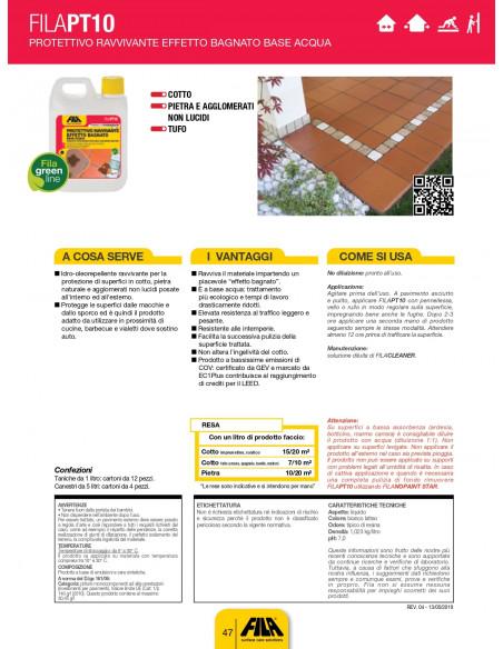 FILA PT10 WET ECO Protettivo ravvivante effetto bagnato base acqua