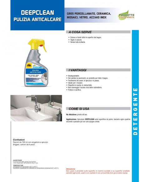 Fila Deepclean Detergente spray per Bagno