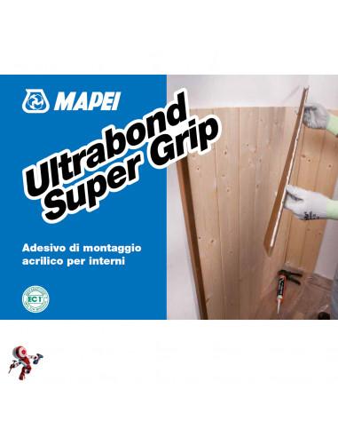 Adesivo di montaggio 310ml Ultrabond Super Grip Mapei