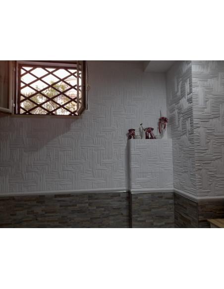 Pannello in polistirolo per pareti e soffitti 50x50 lille (10mq)
