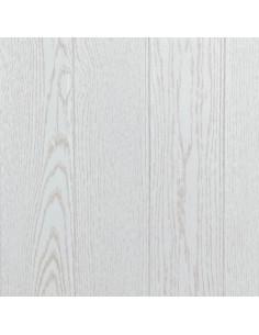 Pannello in polistirolo finto legno per pareti e soffitti 50x50 athen bianco (10mq)