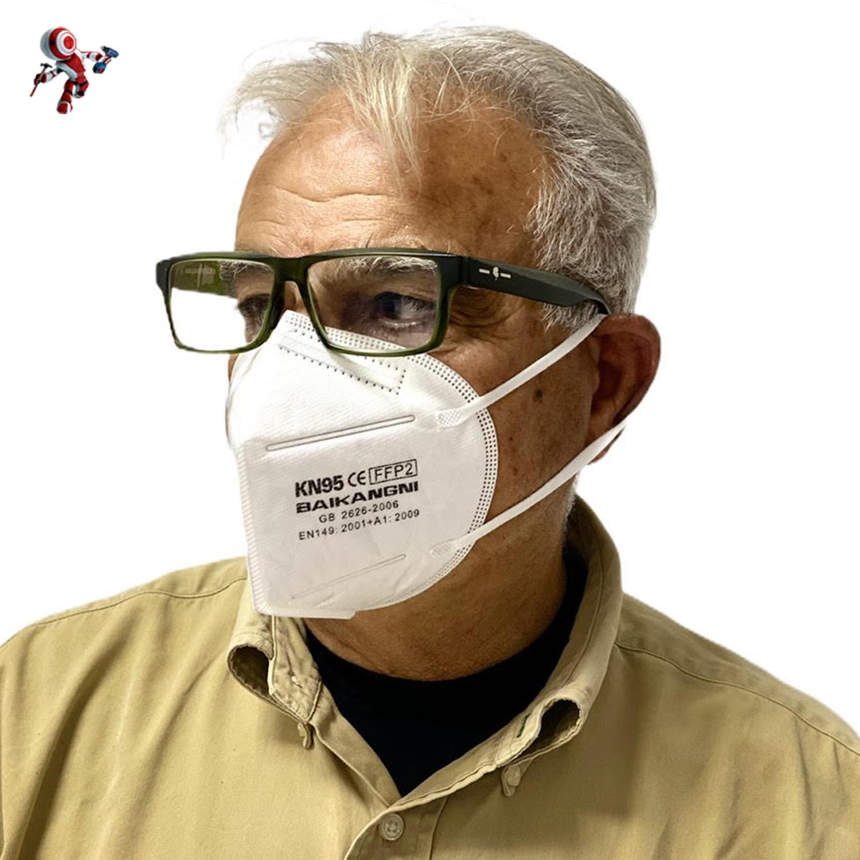 mascherine ffp2 senza valvola kn95