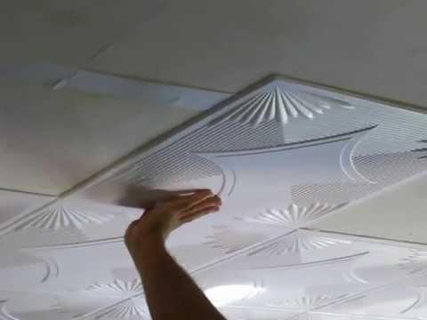 Pannelli in polistirolo per soffitto come montarli e for Pannelli in polistirolo per soffitti