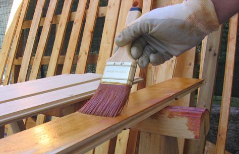 Smalto per legno da esterno bianco Smalto per Legno Alta Protezione 2,5 litri bianco