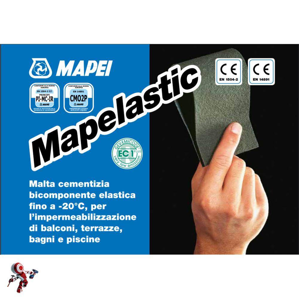 Mapei Mapelastic A B Kg 32 Malta Cementizia Bicomponente
