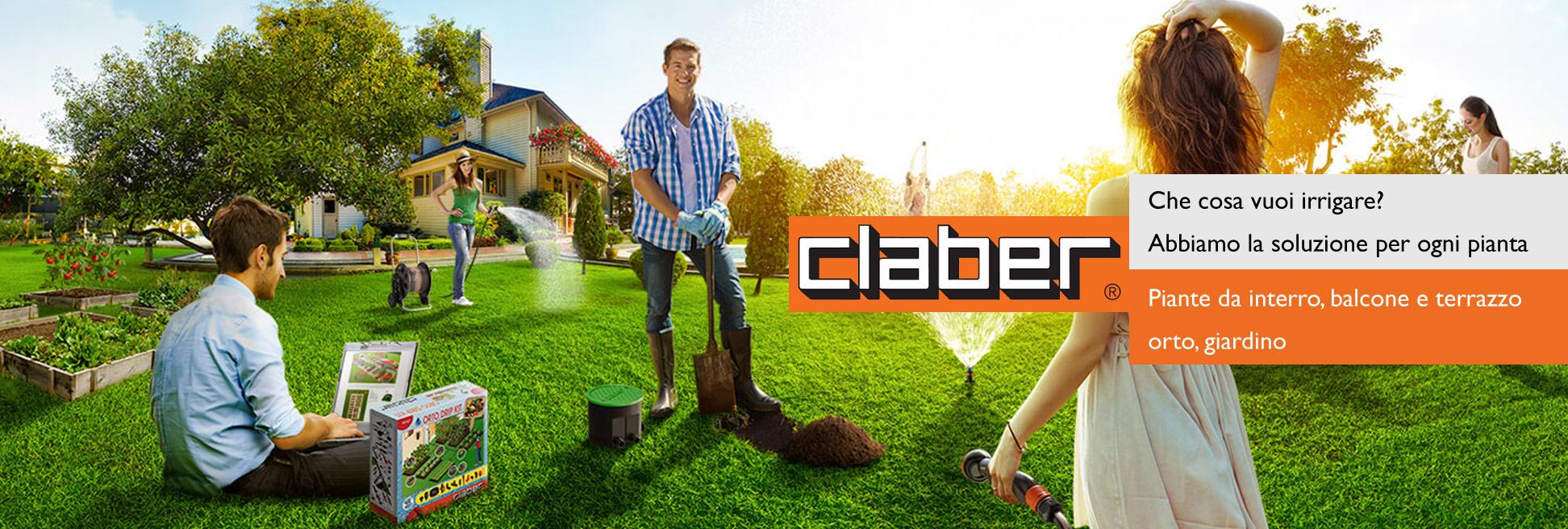prodotti per irrigazione claber